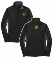 Cypress Ranch Port Authority® Core Colorblock Soft Shell Jacket. J318